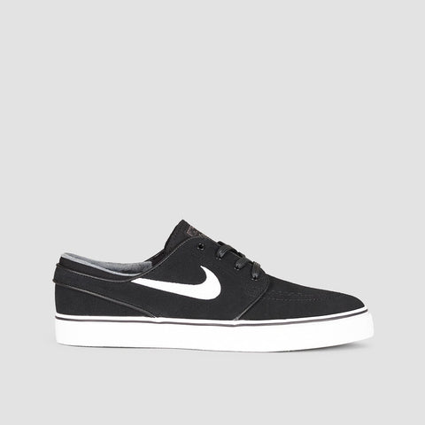 Nike SB Zoom Stefan Janoski Black/White/Thunder Grey/Gum Light Brown - Unisex L