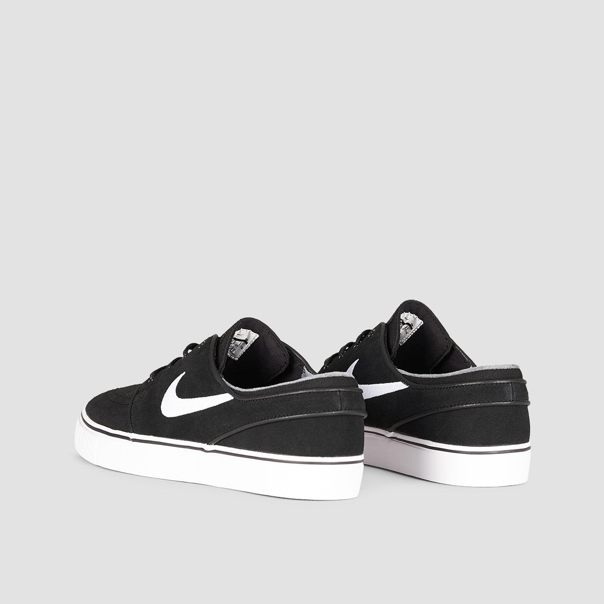 Nike SB Zoom Stefan Janoski Black/White/Thunder Grey/Gum Light Brown - Unisex L - Footwear