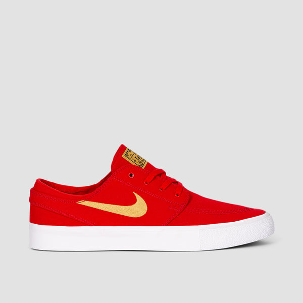 Nike SB Zoom Stefan Janoski Canvas RM University Red/Club Gold/University Red - Unisex S
