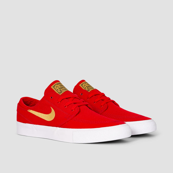Nike SB Zoom Stefan Janoski Canvas RM University Red/Club Gold/University Red - Unisex L