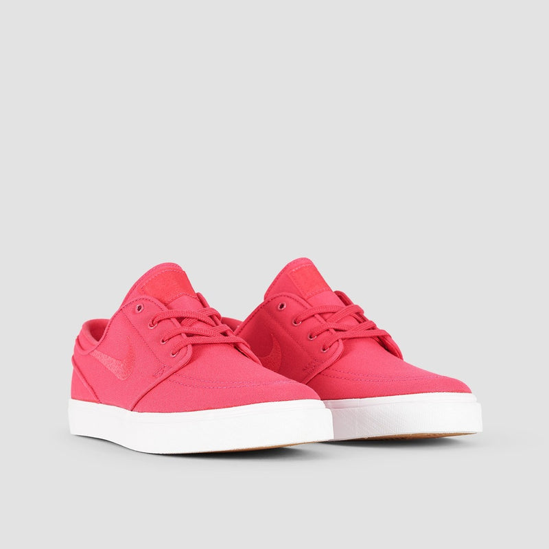 Nike SB Zoom Stefan Janoski Canvas Rush Pink/Rush Pink/Gum Yellow - Kids - Footwear