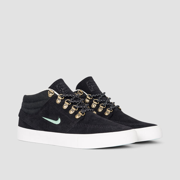 Nike SB Zoom Stefan Janoski Mid Premium Pacific Northwest Black/Glacier Ice/Black/Summit White - Unisex L