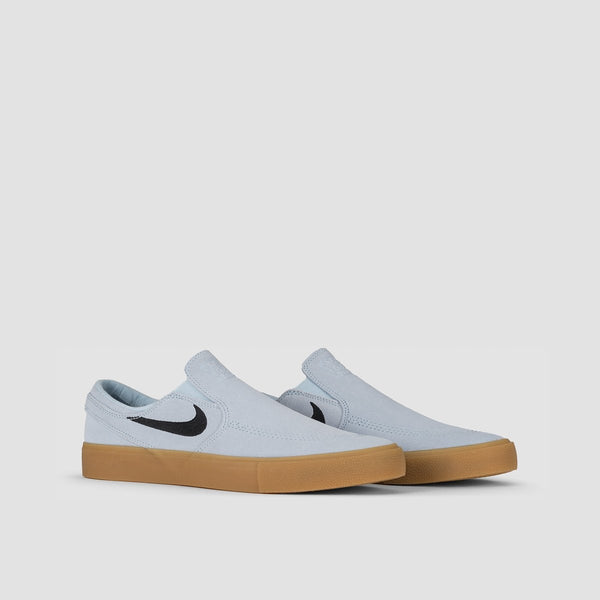 Nike SB Zoom Stefan Janoski Slip On RM Light Armory Blue/Black/Light Armory Blue - Unisex L - Footwear