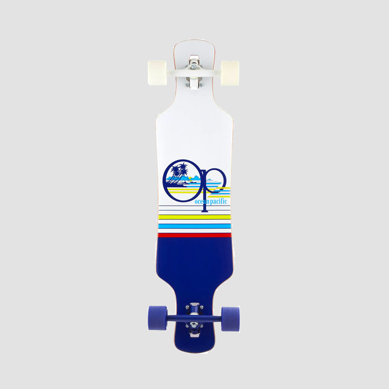 Ocean Pacific Offshore Drop Through Longboard Navy/White - 36""