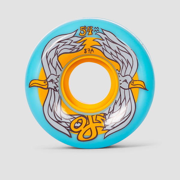 OJ Dave Gardner Birds Keyframe 87a Soft Wheels Blue 54mm
