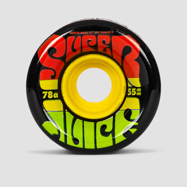 OJ Jamaica Mini Super Juice 78a Soft Wheels Black 55mm
