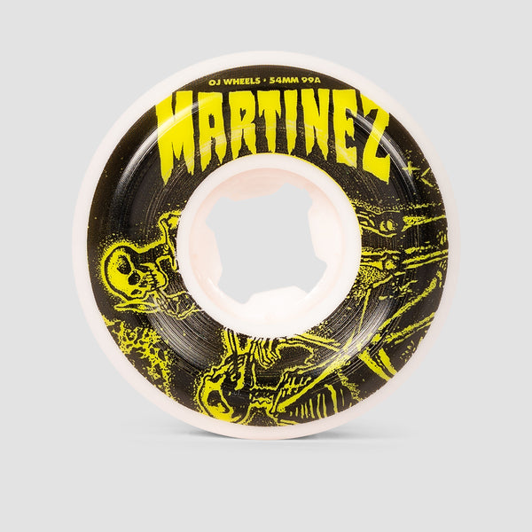OJ Martinez Smoke Bros 2 Mini 99a Elite Wheels White 54mm