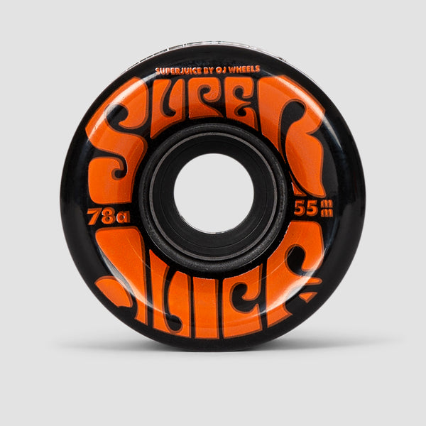 OJ Mini Super Juice 78a Soft Wheels Black 55mm