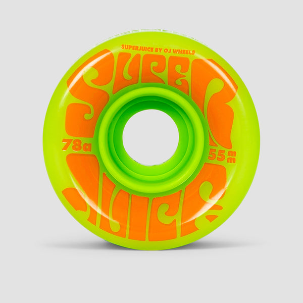 OJ Mini Super Juice 78a Soft Wheels Green 55mm