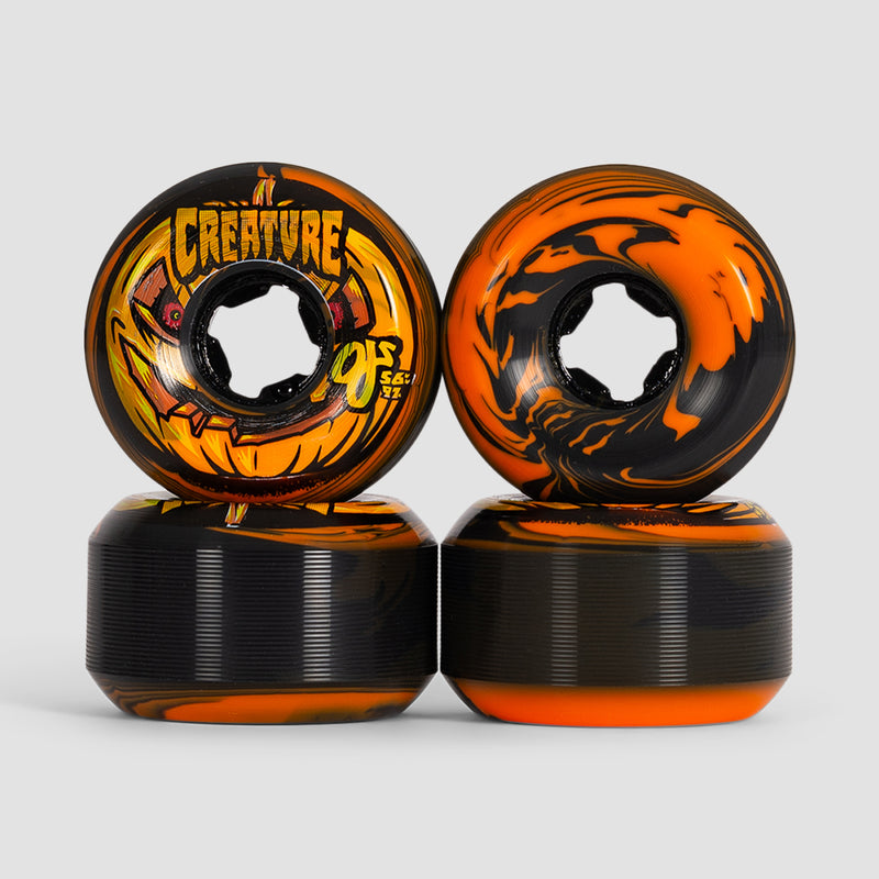 OJ Pumpkin Head Bloodsuckers 97a Wheels Orange/Black 56mm