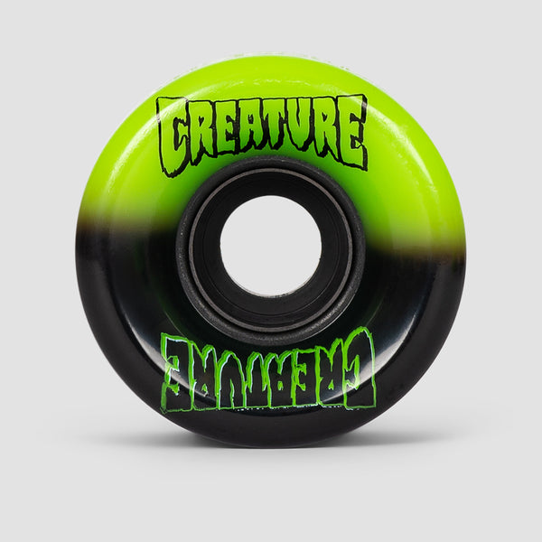 OJ x Creature Split Mini Super Juice 78a Soft Wheels Black/Green 55mm