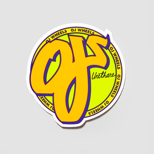 OJ Standard Sticker 80mm