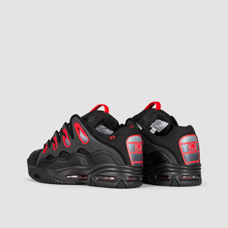 Osiris D3 2001 Black/Red/Fade