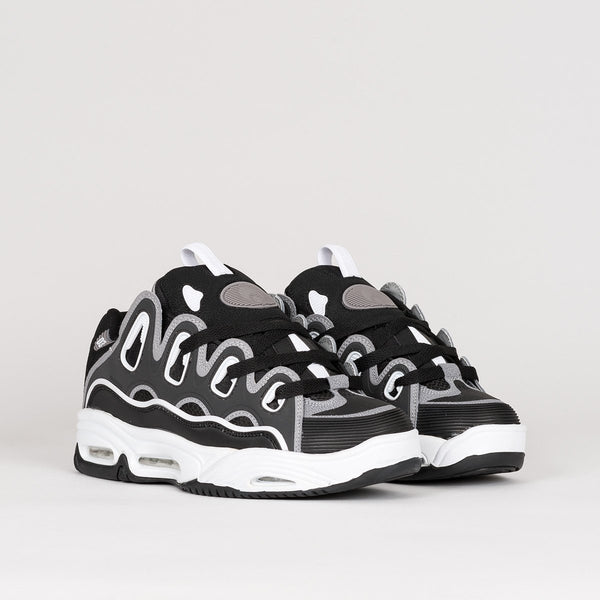 Osiris D3 2001 Black/Grey/White - Footwear