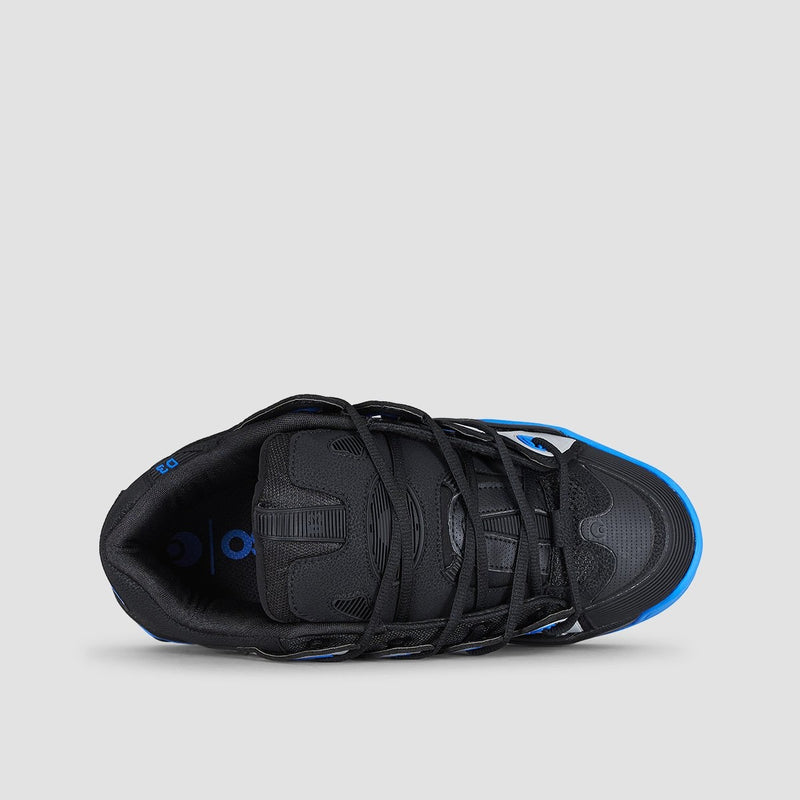 Osiris D3 2001 Black/Royal/Black - Footwear