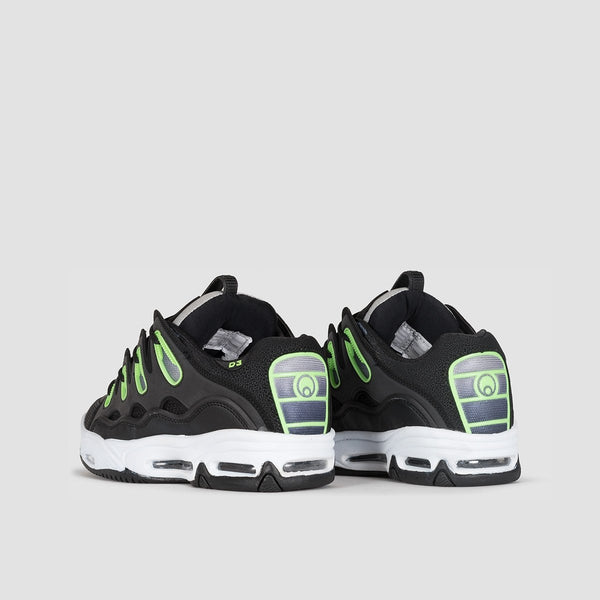 Osiris D3 2001 Black/White/Green - Footwear