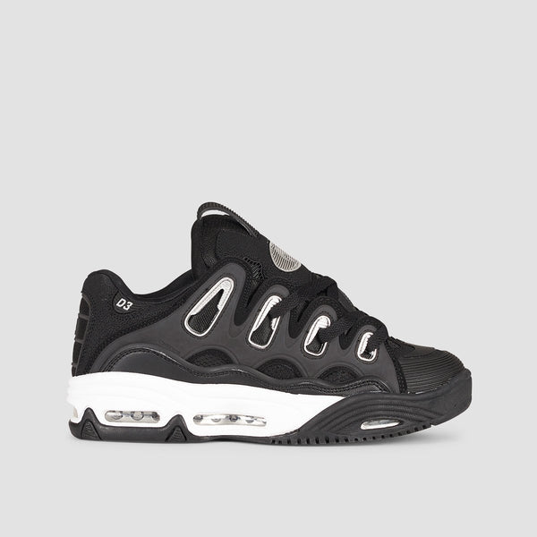 Osiris D3 2001 Black/White/Silver - Footwear