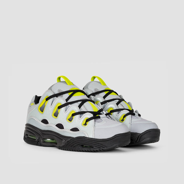 Osiris D3 2001 Light Grey/Lime/Fade