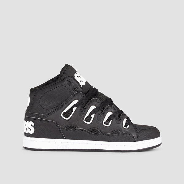 Osiris D3H Black/White/Black - Footwear