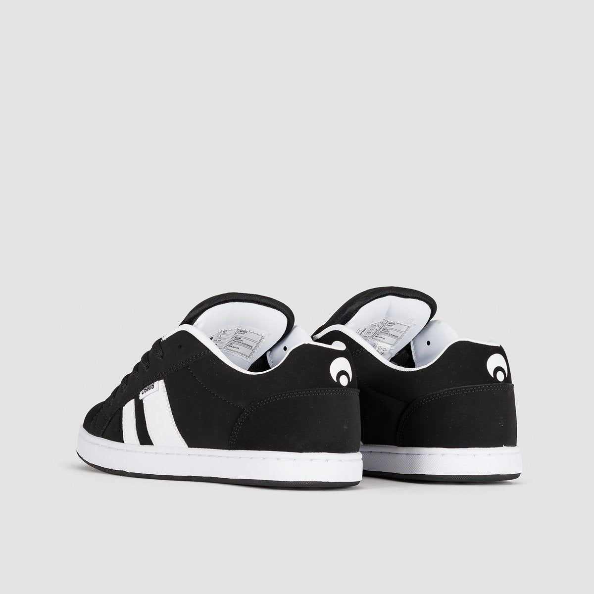 Osiris Loot Black/Black/White - Footwear
