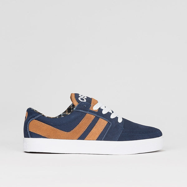 Osiris Lumin Navy/Brown/White - Footwear