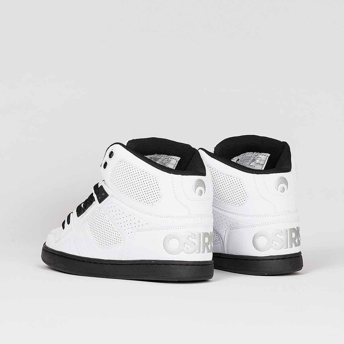 Osiris NYC83 CLK White/Black/Silver - Footwear