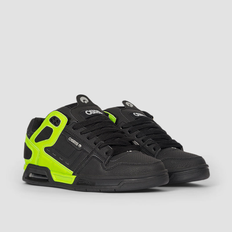Osiris Peril Black/Light Grey/Lime - Kids