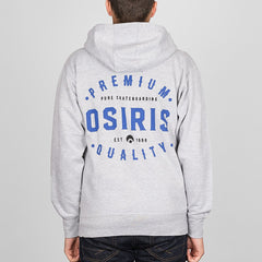 Osiris Premium Zip Hood Grey/Heather - Clothing