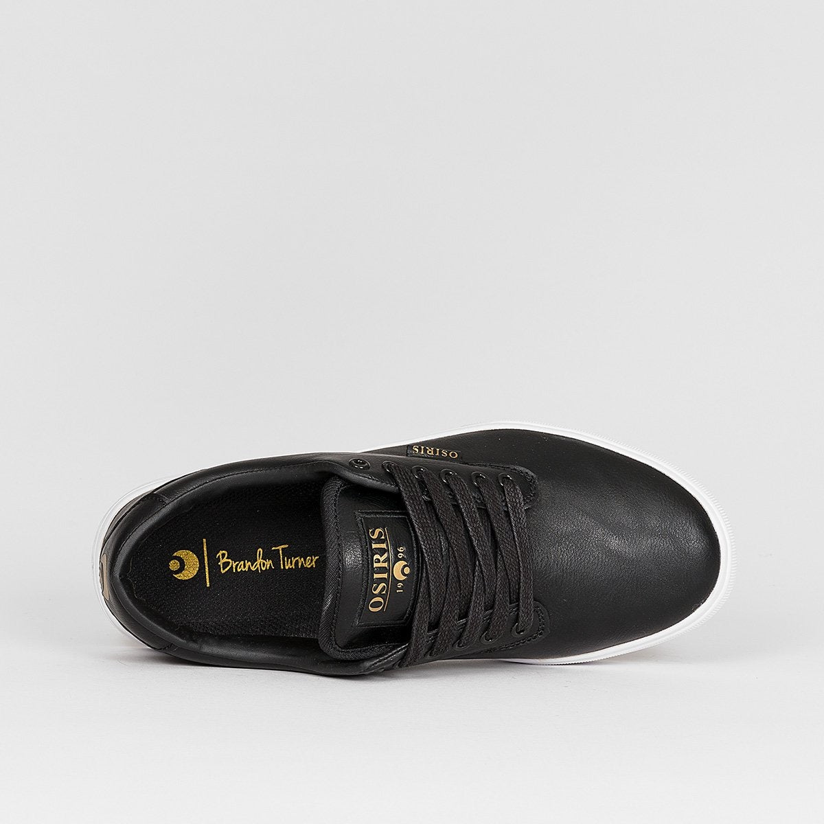 Osiris Slappy Vulc Black/Gold/Turner - Kids - Footwear