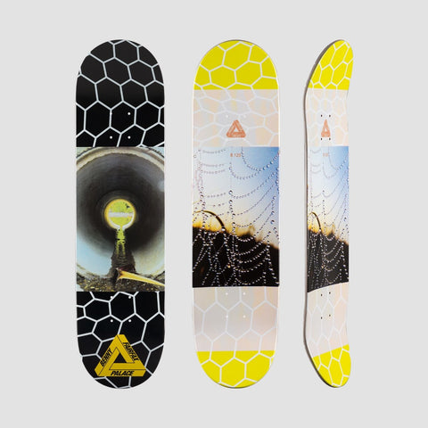 Palace Benny Fairfax Pro S12 Pipe Deck.Black/Multi - 8.125 - Skateboard