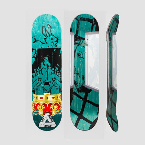 Palace Rory Milanes Pro S17 Deck - 8.06 - Skateboard