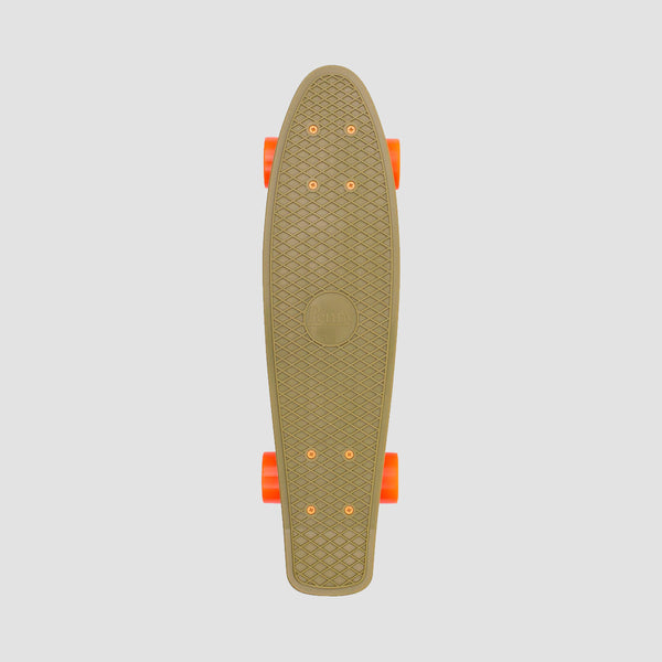 Penny Burnt Olive Cruiser Complete Green/Orange - 22""