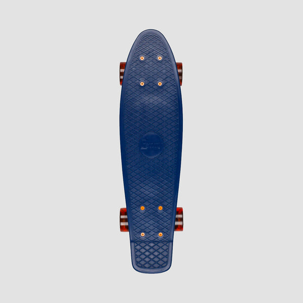 Penny Cruiser Complete Navy/Orange - 22""