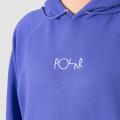 Polar Default Pullover Hood Violet - Clothing