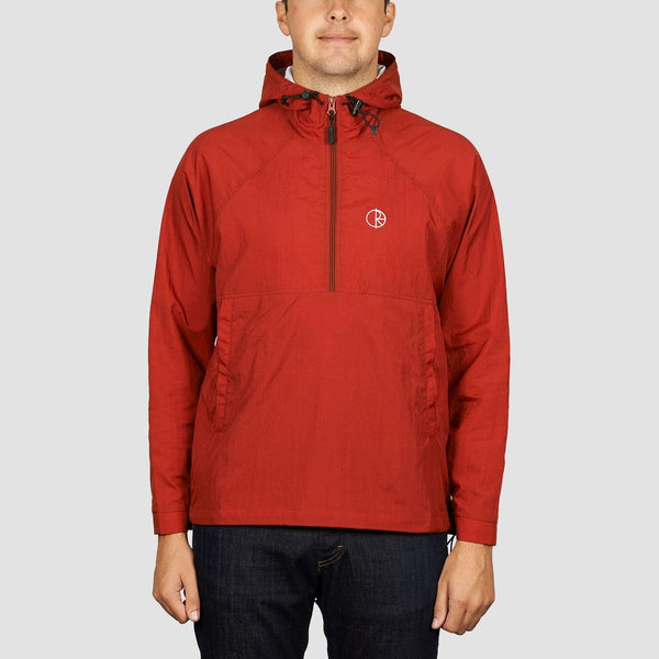 Polar Ripstop Anorak Jacket Red - Clothing