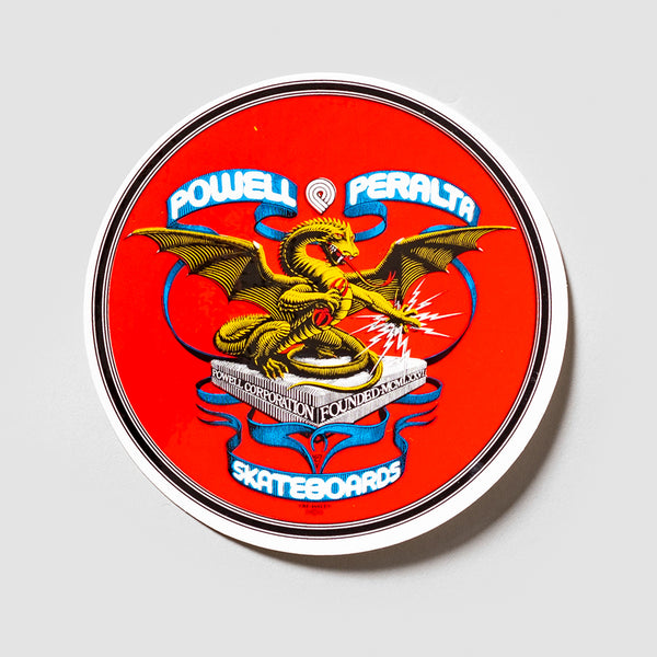 Powell Peralta Banner Dragon Sticker 100mm