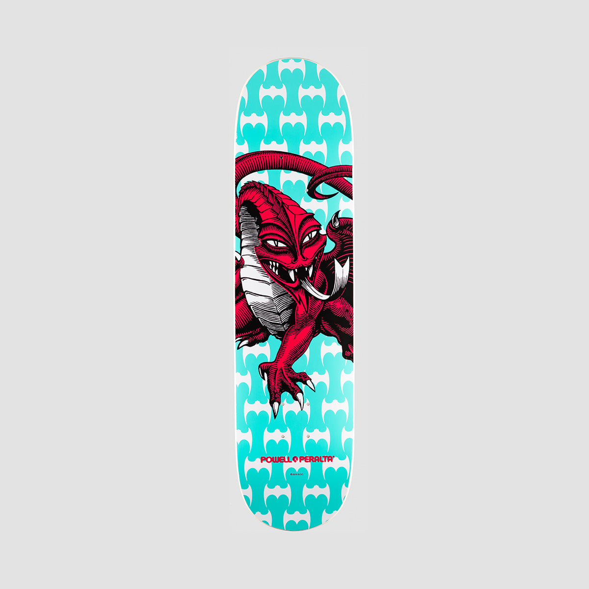 Powell Peralta Cab Dragon One Off 291 Birch Deck Teal - 7.75""