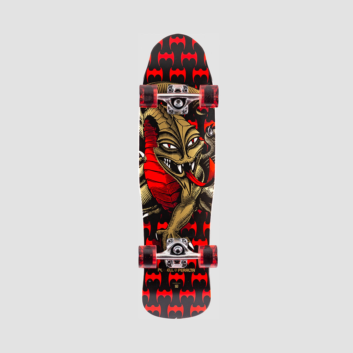 Powell Peralta Mini Cab Dragon 185 Pre-Built Complete Black - 8""