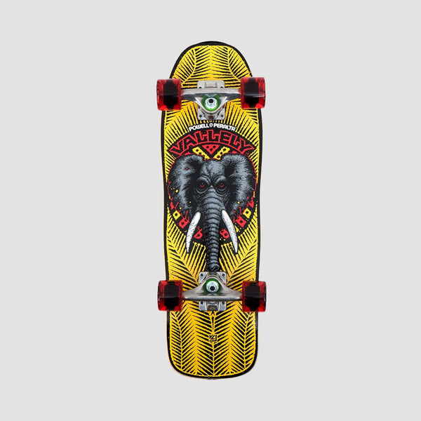 Powell Peralta MINI Vallely Elephant 195 Cruiser Complete Yellow - 8""