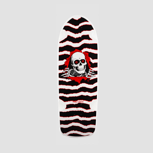 Powell Peralta O.G. Ripper  265 Reissue Deck White/Red - 10""