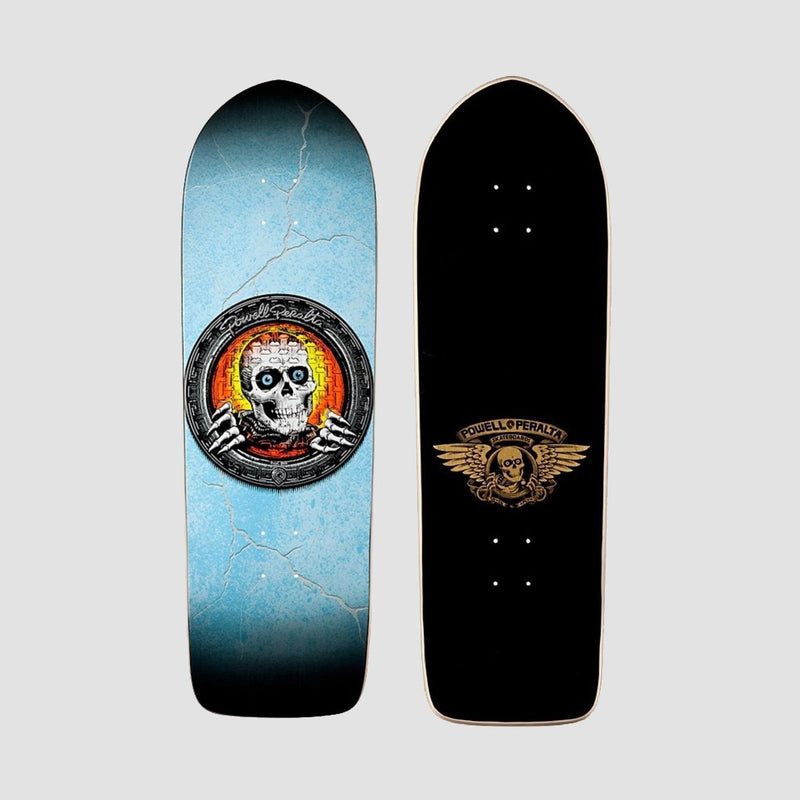 Powell Peralta Pool Light Ripper Reissue Deck Blue/Black/Orange - 10 - Skateboard