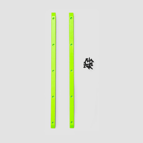 Powell Peralta Rib Bones Rails x2 Lime Green - Skateboard