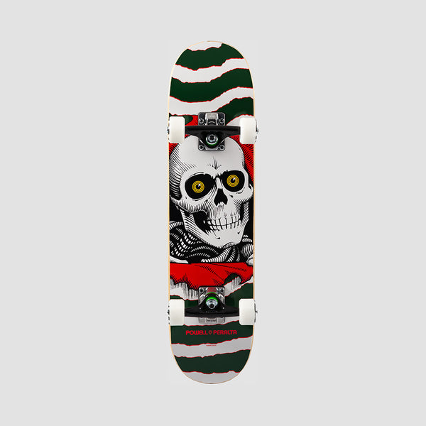 Powell Peralta Ripper One Off Shape 239 Pre-Built Complete Green - 7""
