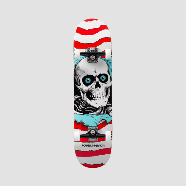 Powell Peralta Ripper One Off Shape 242 Pre-Built Complete Red - 8""