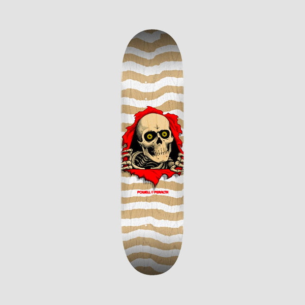 Powell Peralta Ripper Shape 247 Deck White - 8""