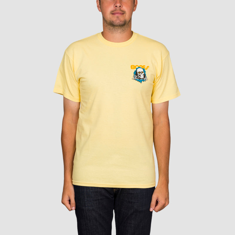 Powell Peralta Ripper Tee Yellow