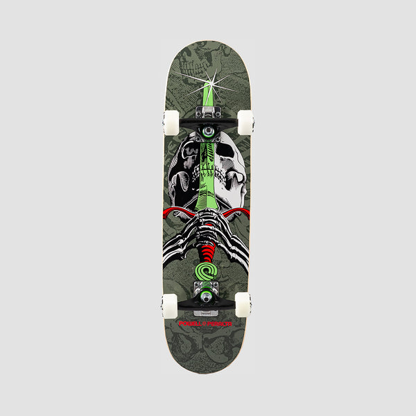 Powell Peralta Skull & Sword One Off 191 Pre-Built Complete Grey - 7.5""
