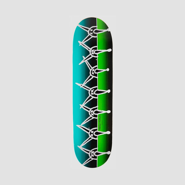 Powell Peralta Vato Rat Band Deck Green/Blue - 8.5 - Skateboard