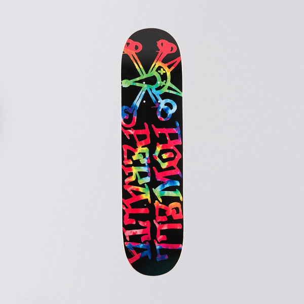 Powell Peralta Vato Rat Tie-Dye Mini Deck Black - 7.00 - Skateboard