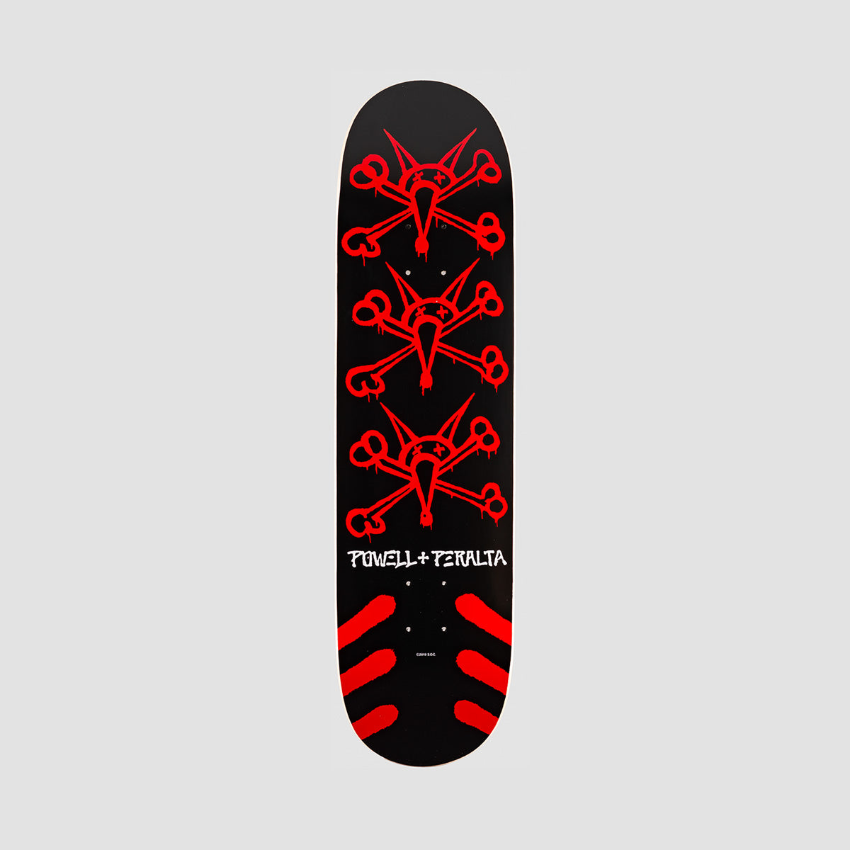 Powell-Peralta Vato Rats Black//Red Complete Skateboard